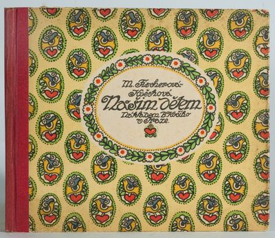 Prague: B.Koci, 1921. Cloth backed boards, 56 pp., excellent condition. Color-printed children's boo...
