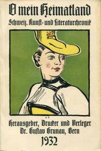 O mein Heimatland 1932. by Grunau, Gustav (Hrsg.) - 1932