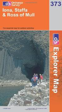 image of Iona, Staffa and Ross of Mull (OS Explorer Map Series)