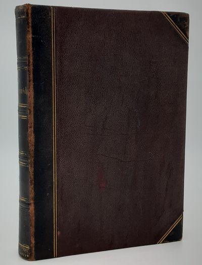 Leipzig. : Bibliographischen Instituts. , 1887. Half black leather over brown stippled cloth, gilt s...