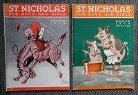 image of ST. NICHOLAS FOR BOYS AND GIRLS.  FEBRUARY 1935 & MARCH 1935.  2 ISSUES.