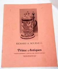 Richard Bourne Antique Auctions, June 8 & 9, 1982