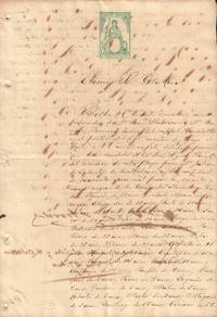 image of Receipt for the Purchase of 69 Black Slaves in Santiago de Cuba