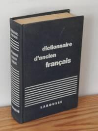image of Dictionnaire D'ancien Francais