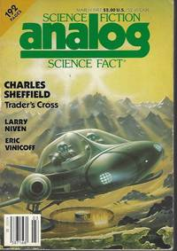 """image of ANALOG Science Fiction/ Science Fact: March, Mar. 1987 (""""The Smoke Ring"""")"""