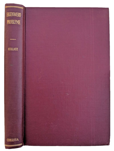 New York:: Chelsea, 1948., 1948. Reprint. 8vo. xiii, , 338 pp. 12 tables, 104 figs. Burgundy gilt-st...