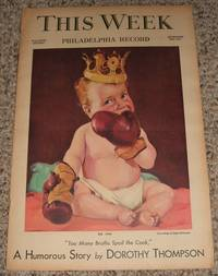 image of This Week Magazine Section of the Philadelphia Record for December 26th 1937
