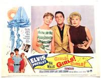 image of Elvis Presley Girls! Girls! Girls! Set of 8 U.S. Lobby Cards
