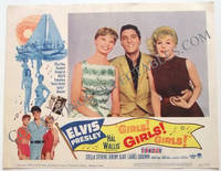 Elvis Presley Girls! Girls! Girls! Set of 8 U.S. Lobby Cards