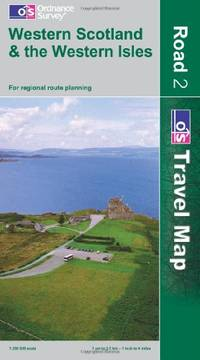 Western Scotland and the Western Isles (OS Travel Map - Road Map)