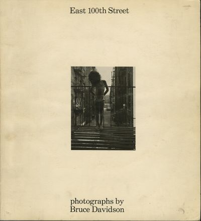 Cambridge: on the half-title page, 1970. First edition. Davidson, Bruce. 4to., numerous full-page b&...