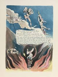 Individual Facsimile Prints from the Trianon Press; America A Prophecy, plate 5 by  William Blake - from Archives Fine Books  (SKU: 1219)