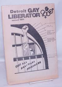image of Gay liberator [aka Detroit Gay liberator] vol. 1, #10, March 1971: Free all political prisoners