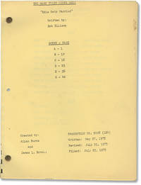 image of The Mary Tyler Moore Show: Edie Gets Married (Post-production script for the 1975 television episode)