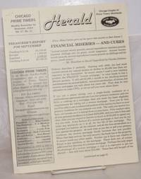 image of Herald: Chicago Prime Timers monthly newsletter; vol. 27, #11, November, 2004