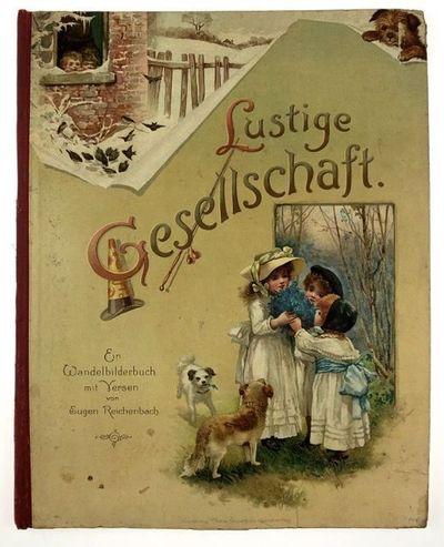 Nurnberg: Theo Stroefer's Kunstverlag, 1894. First edition. First edition. Quarto. Original color pi...