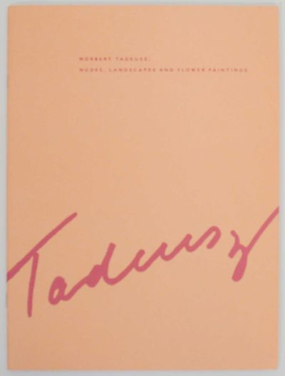 New York: Ruth Siegel Gallery, 1991. First edition. Softcover. 24 pages. Exhibition catalog for a sh...
