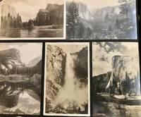 1922-40 Vintage Califonia, Oregon, Grand Canyon, Yosemite, Canada Postcard Album with Several Photograph Post Card Views and color post card scenes