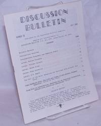 image of Discussion bulletin no. 36, July 1989