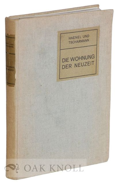 Leipzig, Germany: Verlagsbuchhandlung J.J. Weber, 1908. cloth, labels on spine and front cover. smal...