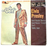 image of Elvis Presley A Touch of Gold Volume 1