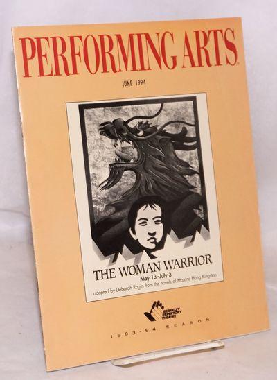 Los Angeles: Performing Arts Network, 1994. 54p., 8.5x11 inches, articles, essays, cast bios, progra...