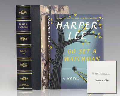 New York: Harper Collins, 2015. First trade edition of Lee's second novel. Octavo, original half clo...