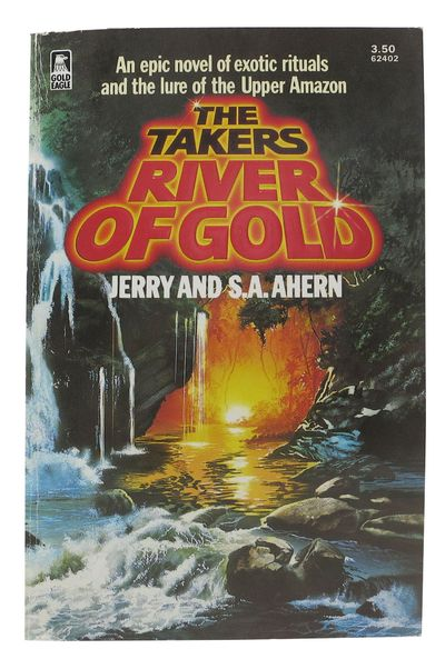Toronto: A Golden Eagle Book from Worldwide, 1985. 1st edition, PBO. Color printed paper covers. Sli...