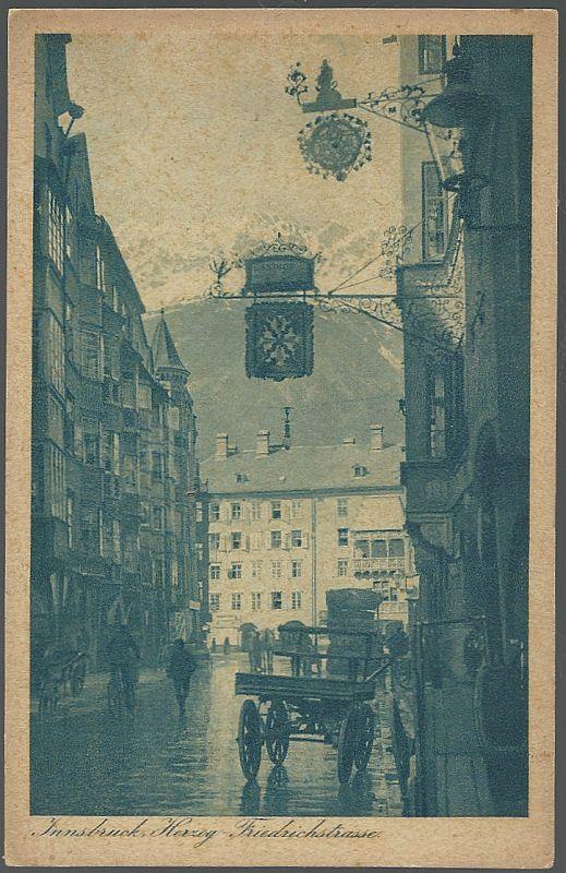 INNSBRUCK HERZOG-FRIEDRICHSTRASSE, Postcard