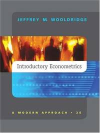 image of Introductory Econometrics: A Modern Approach