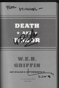 Death and Honor SIGNED FIRST EDITION