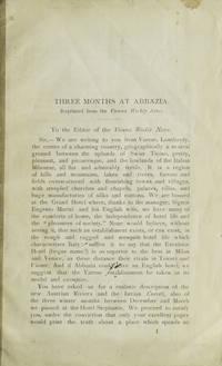 [Caption title:] Three Months at Abbazia