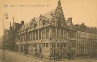 Belgium – Ghent - Gent - Gand – Hotel – La Cour St-Georges early 1900s used...