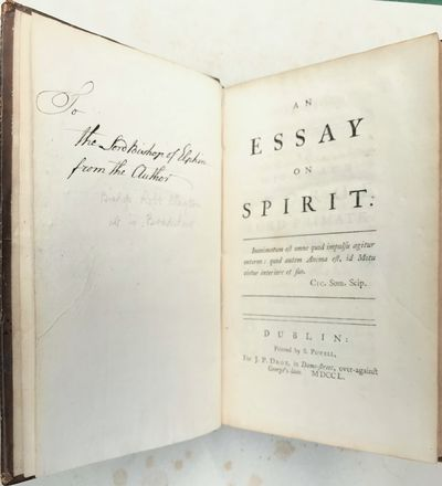 An Essay on Spirit