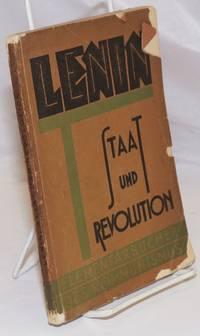 Staat und Revolution by  N Lenin - 1924 - from Bolerium Books Inc., ABAA/ILAB (SKU: 253741)