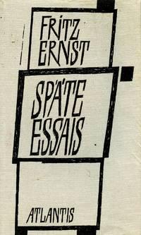 Spate Essais: Einleitende Wurdigung von Rudolf Alexander Schroder