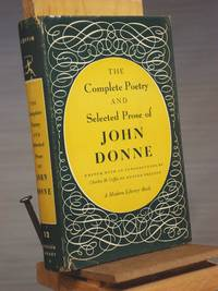The Cmoplete Poetry and Selected Prose of John Donne