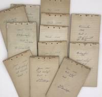 [Archive of a Police Patrolman's Logs from WWII-Era Cincinnati, Ohio]