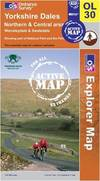 image of Yorkshire Dales - Northern and Central Areas (OS Explorer Map Active)