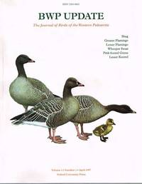 BWP Update. The Journal of Birds of the Western Palearctic: Volume1 Number 1 April 1997