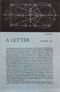 A Letter August 1966