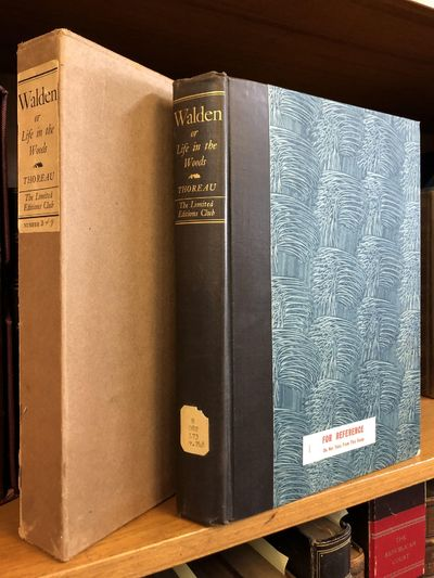 New York: Limited Editions Club, 1936. Limited Edition, #349/1500. Hardcover. Octavo, 290 pages; G+;...
