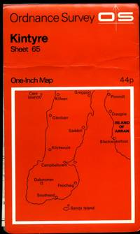 Ordnance Survey One-Inch Map (One Inch Series Red Covers) of Great Britain Sheet 65: Kintyre