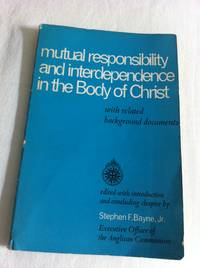 Mutual responsibility and interdependence in the body of Christ, with related background documents.