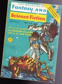 The Magazine of Fantasy and Science Fiction January 1971 - The Human Operators, Specialization, Hot Water, Seeker for Still Life, Mr. Krisky's Cross, Heathen God, Spring & the Green-eyed Girl, Matchmaker Matchmaker