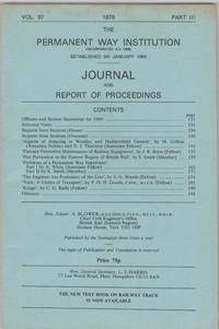 image of Journal and Report of Proceedings Vol.97, 1979, Part 3
