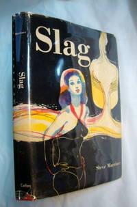 SLAG, Steve Marriner 1968 Signed; white man pitted against black man