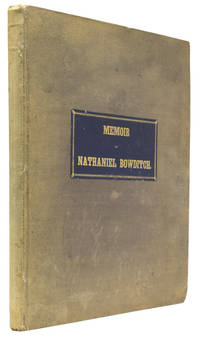 Memoir of Nathaniel Bowditch. By His Son.
