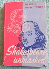image of Shakespeare Unmasked