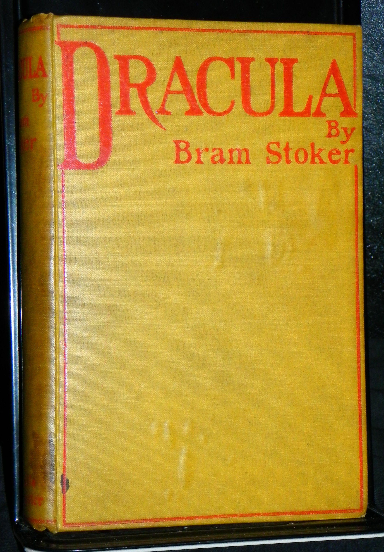 Dracula SIGNED by Bram Stoker 1897 Archibald by Bram Stoker